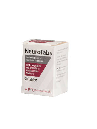 NeuroTabs Iodine 150ug 90 Tablets