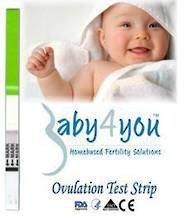 Free Sample - One (1) Baby4You Ovulation Test Strip