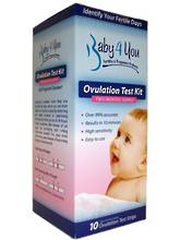 Baby4You Ovulation Predictor Test Kit - As sold in Pharmacies