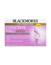Blackmores Pre-Conception Conceive Well Gold