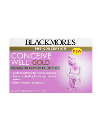 Blackmores Pre-Conception Conceive Well Gold Exp 31.10.2017