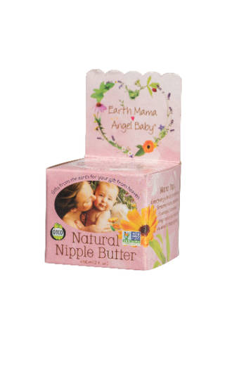Earth Mama Angel Baby Organic Natural Nipple Butter 60ml
