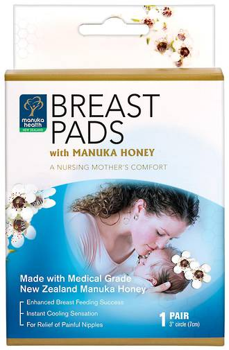 Manuka Honey Breast Pads for Nursing Mothers