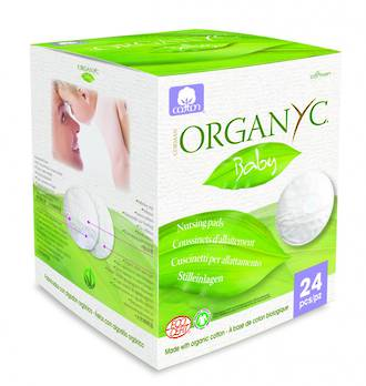 ORGANYC Eco Friendly Organic Disposable Breast Pads