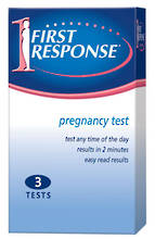 First Response Dip & Read 3 Pack Test Pack Exp 30.06.18