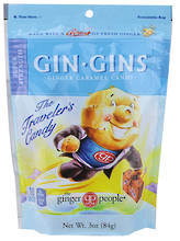 Gin Gins Ginger Candy's with fresh Ginger : 5 great flavors